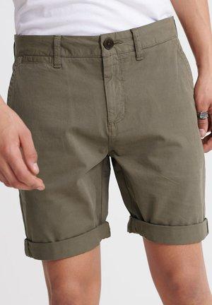 SUPERDRY INTERNATIONAL CHINO SHORTS - Shorts - dusty olive