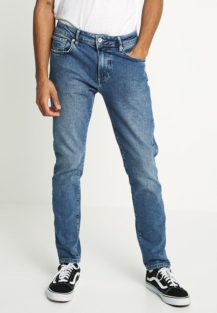 Superdry - TYLER - Slim fit jeans - alder mid blue