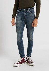 Superdry - TRAVIS - Jeans Skinny Fit - trinity dark used - 0