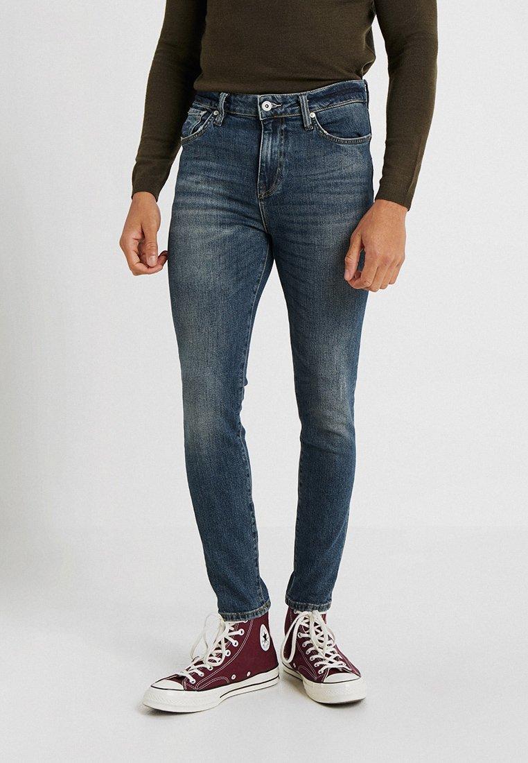 Superdry - TRAVIS - Jeans Skinny Fit - trinity dark used