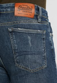 Superdry - TRAVIS - Jeans Skinny Fit - trinity dark used - 5