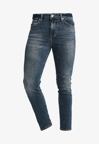 Superdry - TRAVIS - Jeans Skinny Fit - trinity dark used - 4