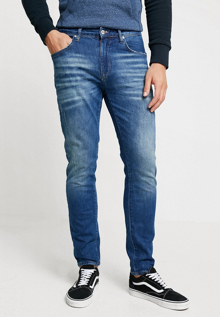 Superdry - CONOR - Jeans Tapered Fit - berkeley blue used