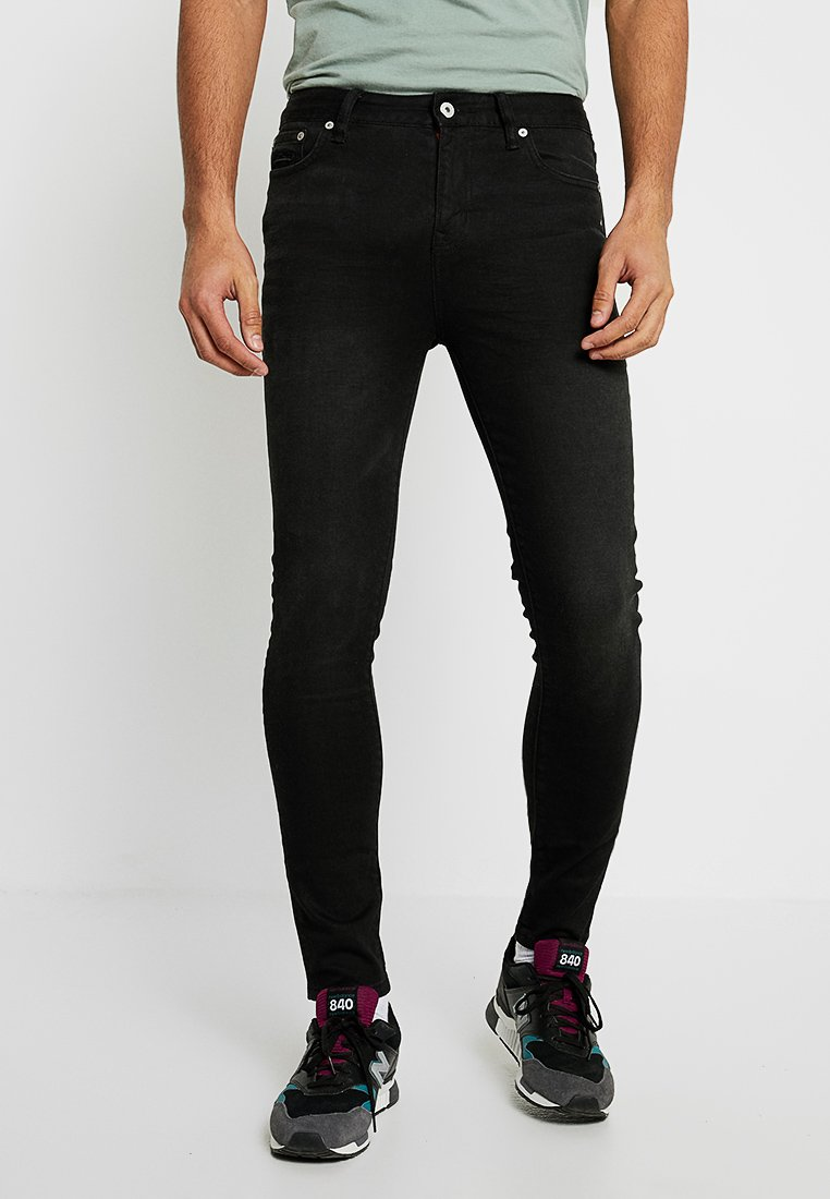 Superdry - TRAVIS - Jeans Skinny Fit - berkeley black