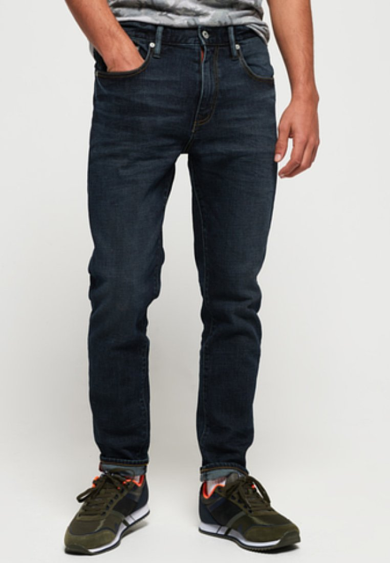Superdry - Straight leg jeans - byrom dark blue