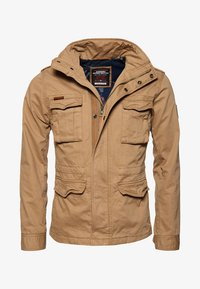 Superdry - CLASSIC ROOKIE MILITARY JACKET - Summer jacket - beige - 4