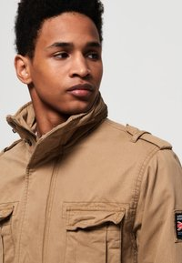 Superdry - CLASSIC ROOKIE MILITARY JACKET - Summer jacket - beige - 3