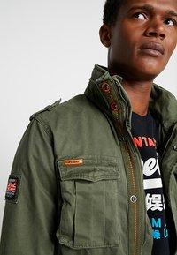 Superdry - CLASSIC ROOKIE MILITARY JACKET - Summer jacket - khaki - 5
