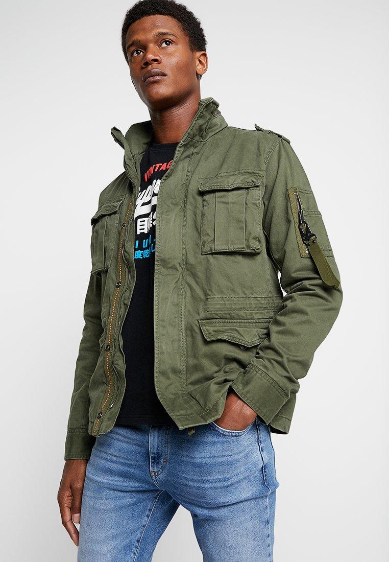 Superdry - CLASSIC ROOKIE MILITARY JACKET - Summer jacket - khaki