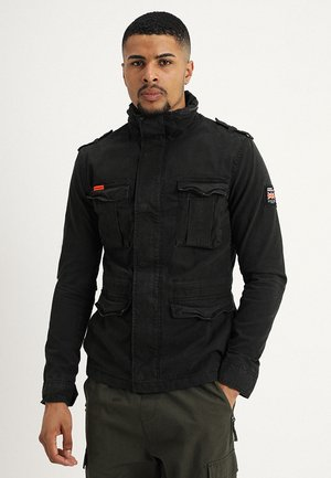 CLASSIC ROOKIE MILITARY JACKET - Summer jacket - bitter black