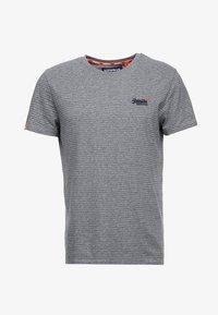 navy/grey melange