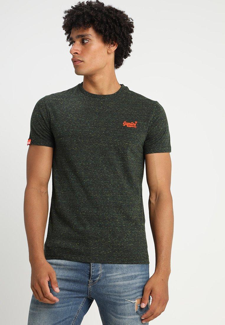 Superdry - ORANGE LABEL - T-shirt basic - adventure khaki