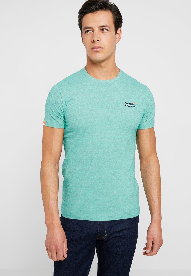 Superdry - ORANGE LABEL - T-shirt - bas - green grit feeder