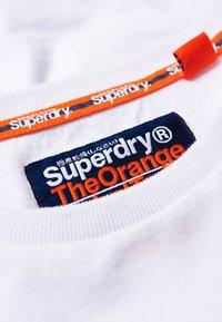 Superdry - ORANGE LABEL VINTAGE TEE - Longsleeve - white - 4
