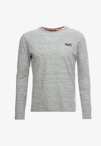 Superdry - ORANGE LABEL VINTAGE TEE - Langarmshirt - flint grey grit - 4