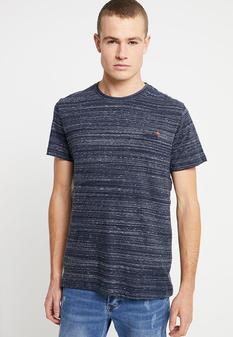 Superdry - ORANGE LABEL VINTAGE TEE - Print T-shirt - navy