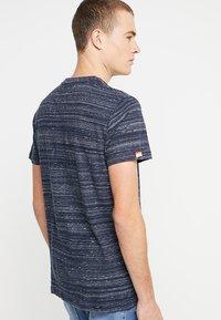 Superdry - ORANGE LABEL VINTAGE TEE - Print T-shirt - navy - 2