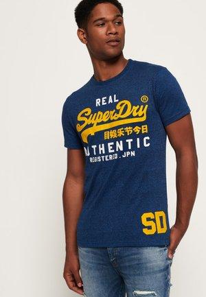 VINTAGE AUTHENTIC DUO  - Print T-shirt - blue
