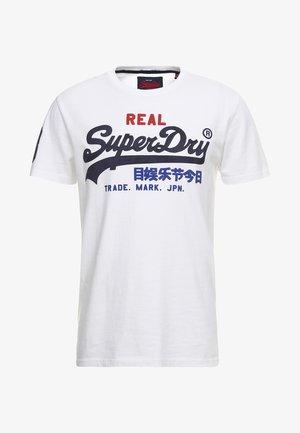 VINTAGE LOGO TRI TEE - T-shirt print - optic