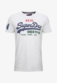 Superdry - VINTAGE LOGO TRI TEE - Print T-shirt - ice marl - 3