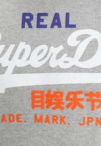 Superdry - VINTAGE LOGO TRI TEE - T-shirt print - montana grey grit - 3