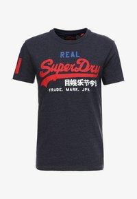 Superdry - VINTAGE LOGO TRI TEE - Print T-shirt - techno navy marl - 3