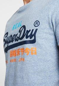 Superdry - VINTAGE LOGO TRI TEE - Print T-shirt - bliss blue - 5