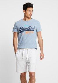 Superdry - VINTAGE LOGO TRI TEE - Print T-shirt - bliss blue - 0