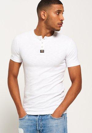 TRADITIONELLES GRANDAD - T-shirt basique - optic slub