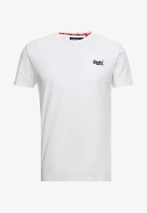 ORANGE LABEL VINTAGE - T-shirt z nadrukiem - optic white