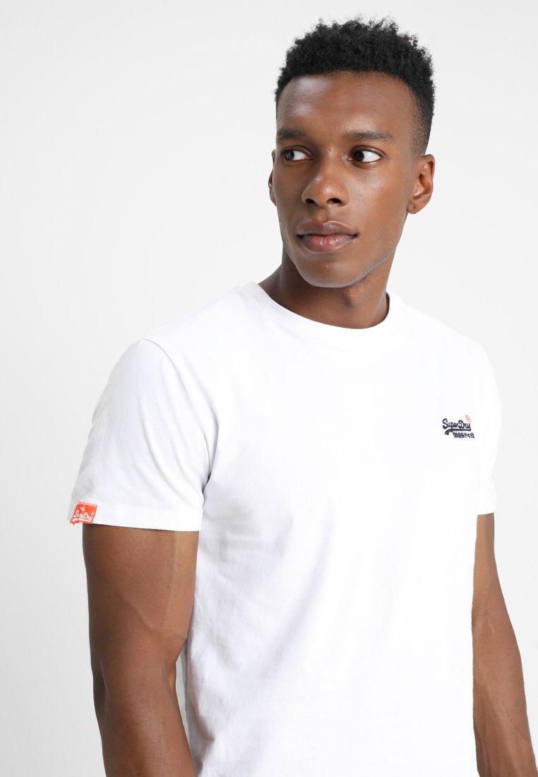 Superdry ORANGE LABEL VINTAGE - Print T-shirt - optic white