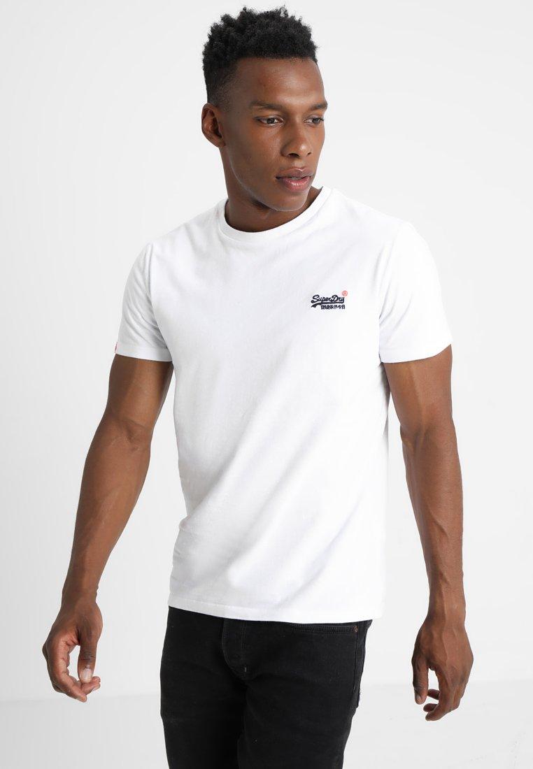 Superdry - ORANGE LABEL VINTAGE - T-Shirt print - optic white