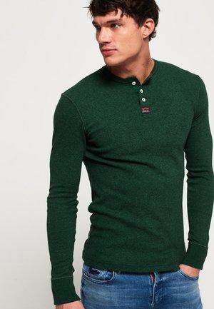 HERITAGE GRANDAD - Långärmad tröja - dark green