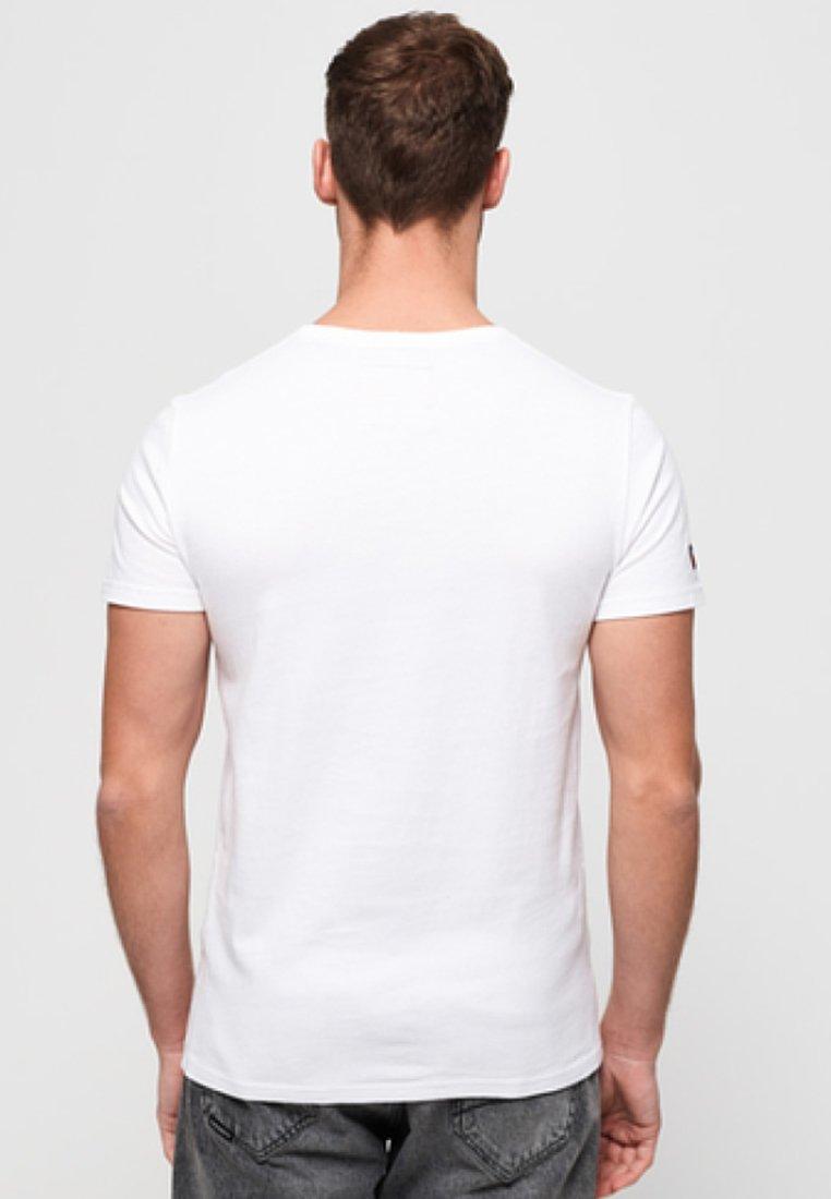Imprimé White Superdry Vintage TeeT Logo shirt UzVSMp