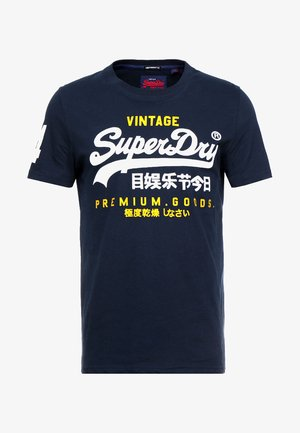 PREMIUM GOODS DUO LITE TEE - T-shirt print - navy