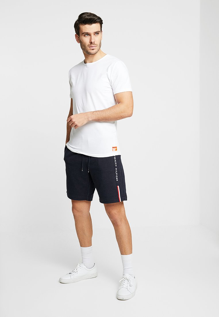 Superdry - SLIM TEE 3 PACK - T-shirt basique - laundry white