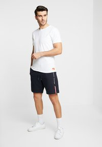 Superdry - SLIM TEE 3 PACK - Basic T-shirt - laundry white - 0
