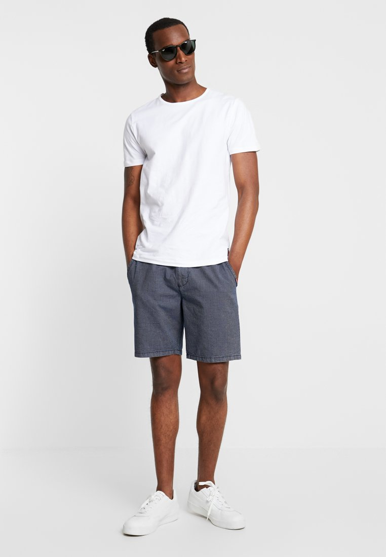 Superdry - SLIM TEE 3 PACK - T-shirts - laundry grey grit/laundry black/laundry white