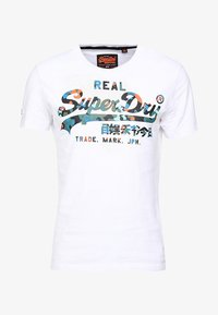 Superdry - VINTAGE LOGO LAYERED CAMO TEE - T-shirt z nadrukiem - optic - 5