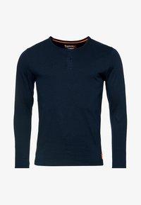 Superdry - Långärmad tröja - laundry navy blue - 4