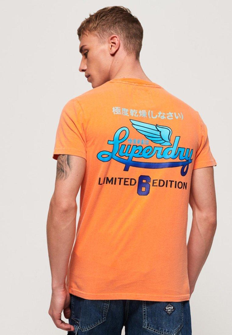 Superdry Superdry shirt T T ImpriméOrange shirt NwkXOnZP08