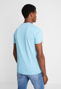 Superdry - FLURO GRIT TEE - T-shirt basic - fluro blue grit - 2