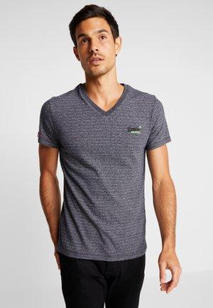 ORANGE LABEL VINTAGE - T-shirts med print - navy grey feeder