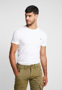 Superdry - COLLECTIVE TEE - T-shirt basic - optic - 0