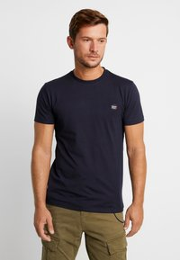 Superdry - COLLECTIVE TEE - T-shirt basic - box navy - 0