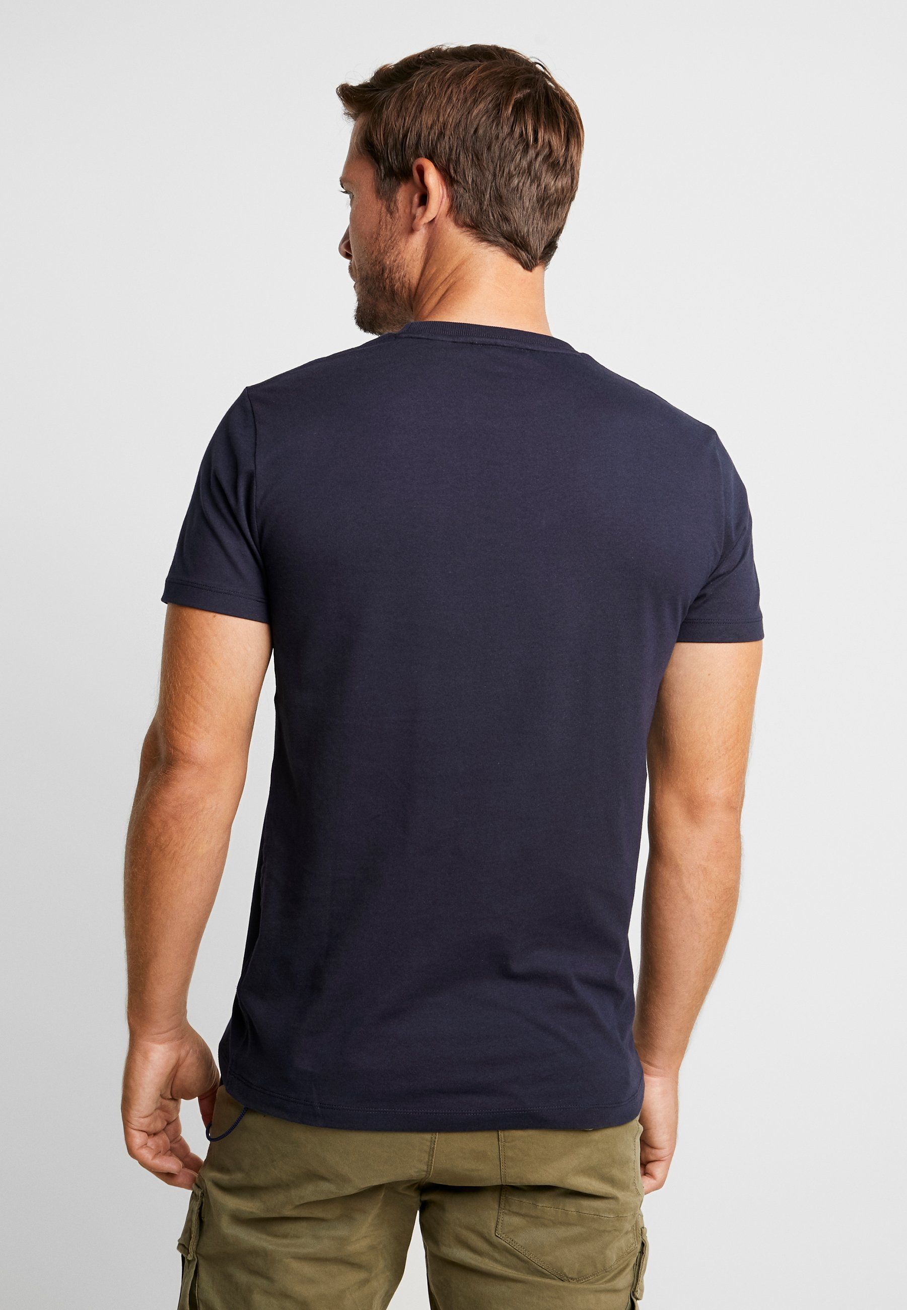 TeeT Navy Basique Box Superdry shirt Collective edBrxoC