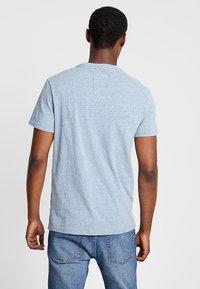 Superdry - SURF TEE - T-shirt z nadrukiem - bliss blue - 2