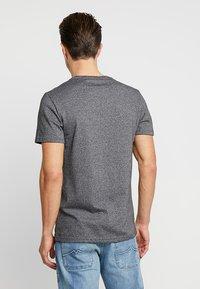 Superdry - VINTAGE LOGO FERO TEE - Print T-shirt - black grit - 2