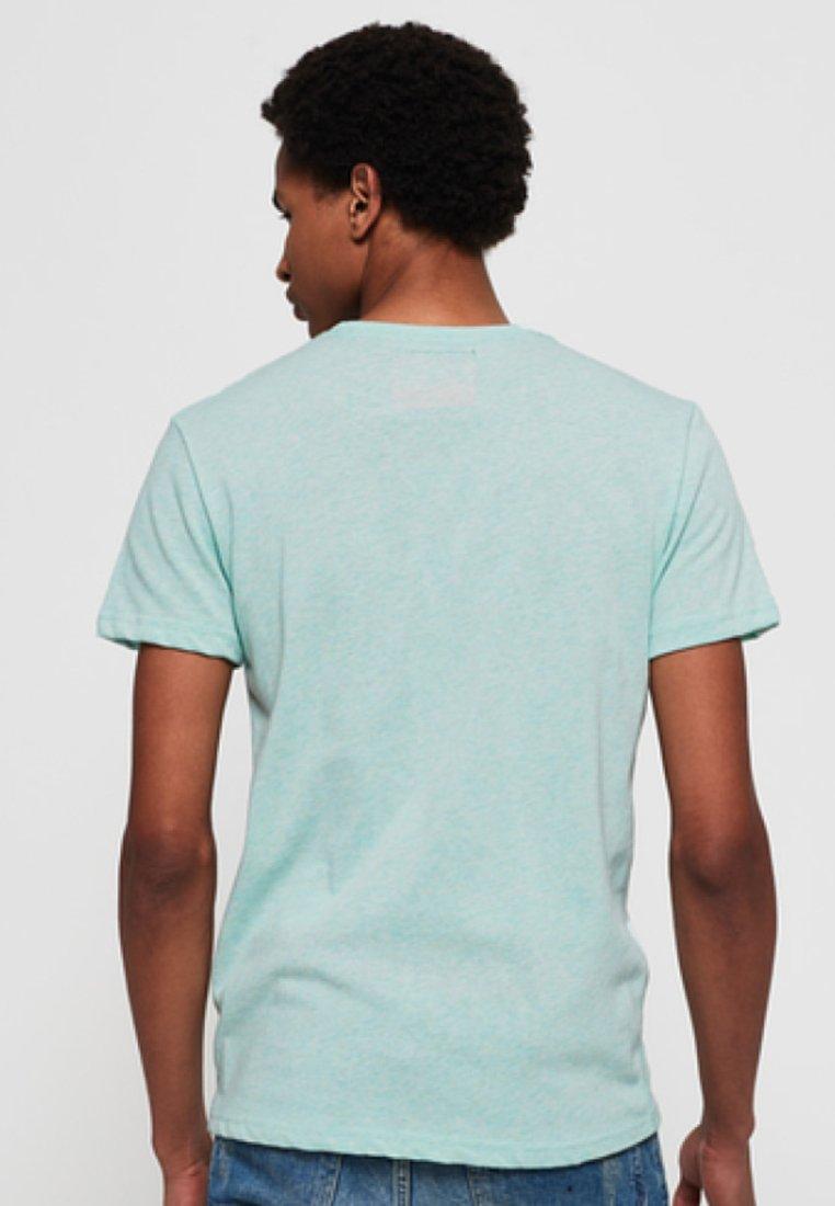 Shirt CAMISETAT print pastel Superdry mint QrdCWoeExB