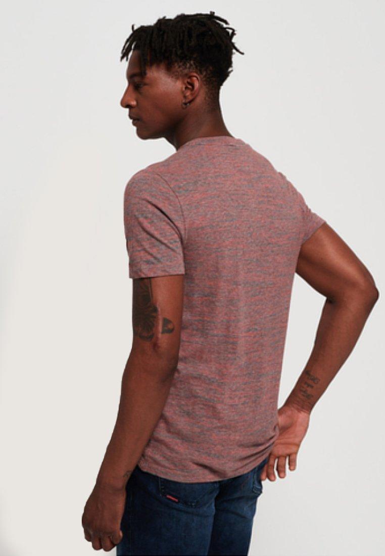 Superdry ORANGE LABEL VINTAGE - T-shirt basique orange